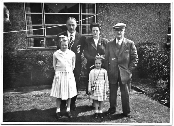 Bill Shankly and family