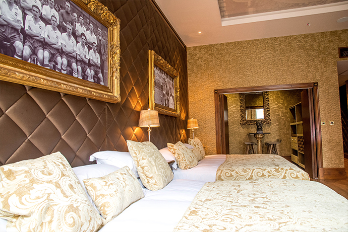 Luxury Liverpool Hotel room Shankly Hotel