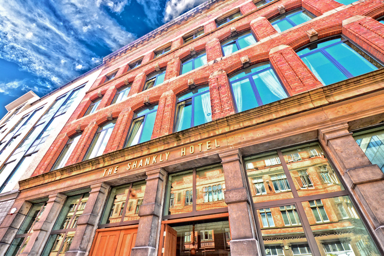 The Shankly Hotel in Liverpool