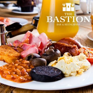 The Bastion Bar & Restaurant Breakfast