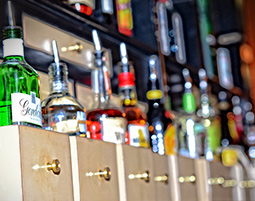 The Bastion Bar & Restaurant drinks menu