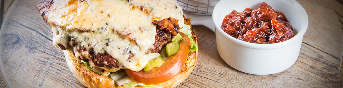 The Bastion Bar & Restaurant burger menu