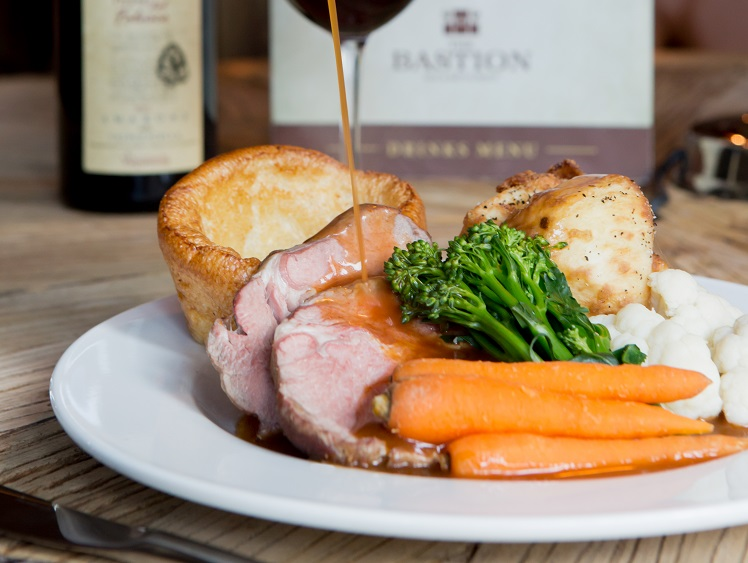 Sunday roast Bastion Bar and Restaurant