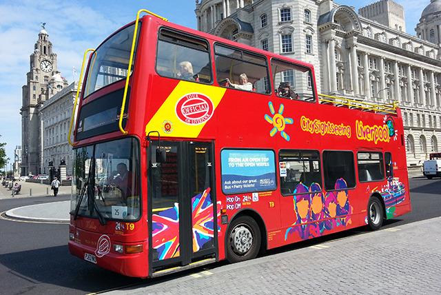 City Sights Bus Tour Liverpool