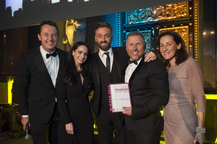 LEP Award The Shankly Hotel in 2016