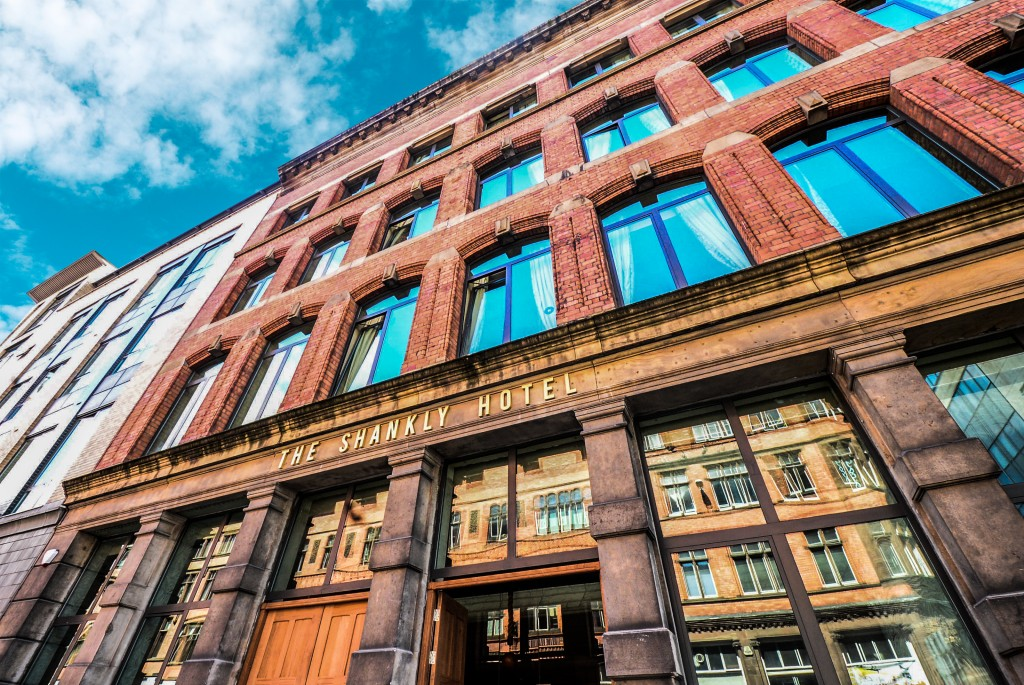 shankly exterior - football themed Liverpool hotel