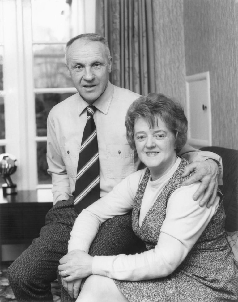 Bill and Agnes Shankly