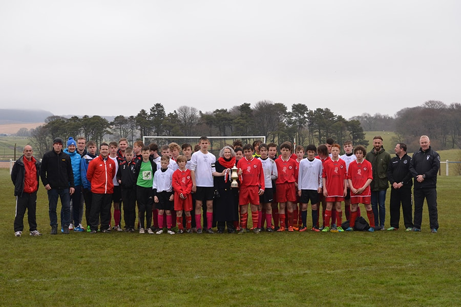 the match for the Bill Shankly Memorial Trophy