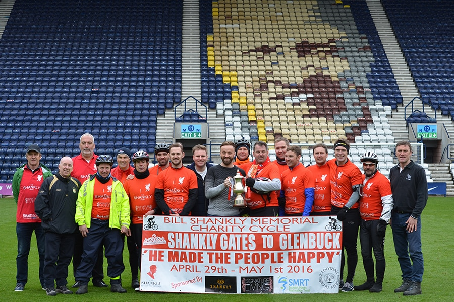 The Bill Shankly Memorial ride and trophy