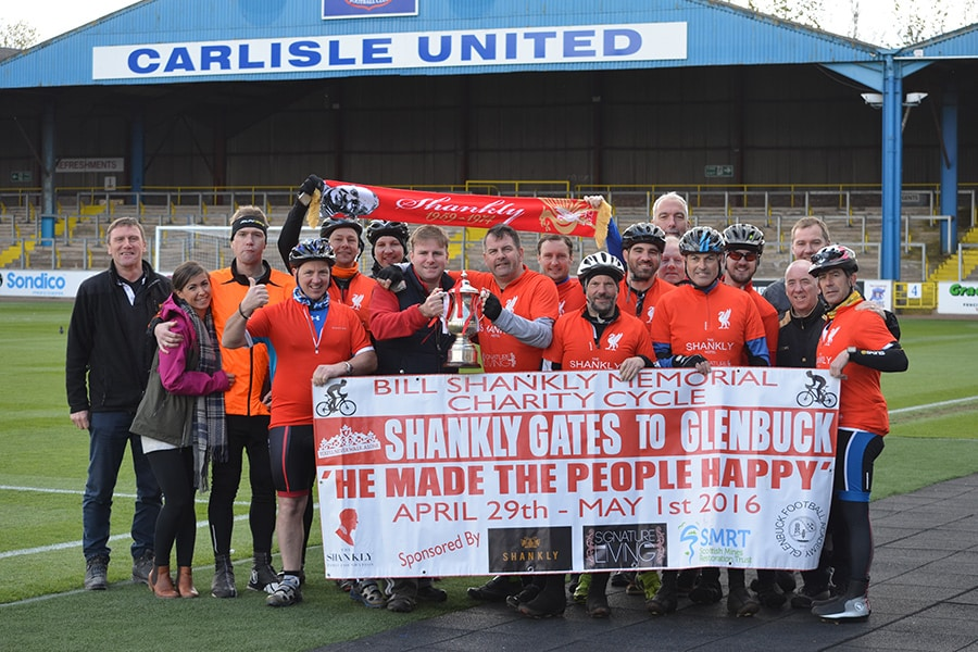 The Bill Shankly Memorial ride