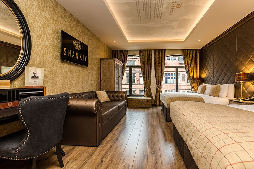 Shankly Hotel room - hotel packages Liverpool