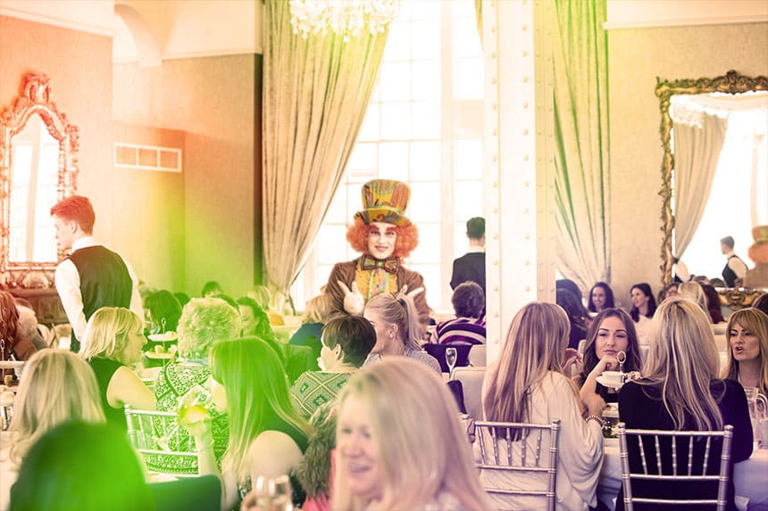 Signature Living afternoon tea - Madhatter tea party