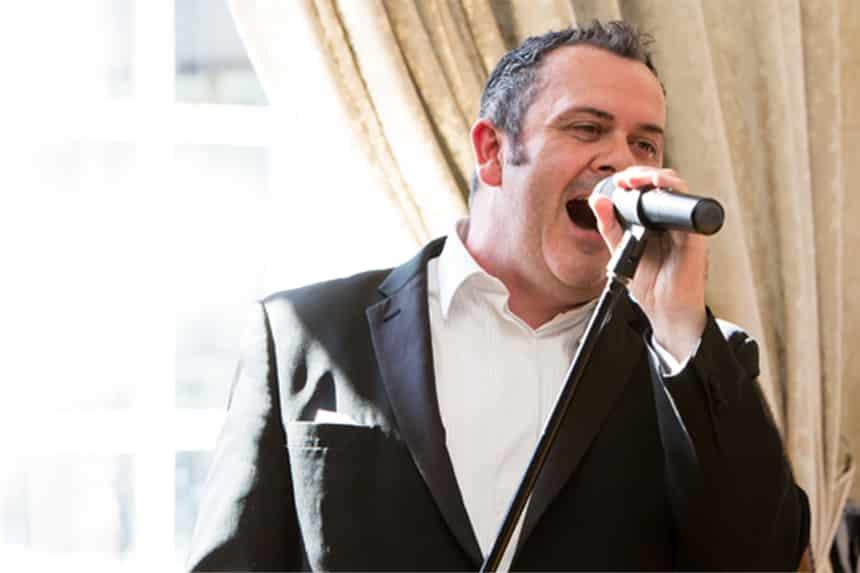 Signature Living afternoon tea - singing waiter eden