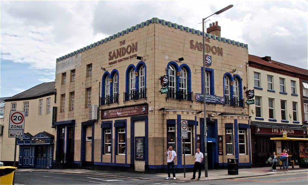 The Sandon Pub Liverpool