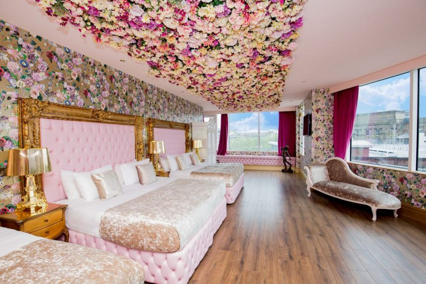 The Flower Hotel Room
