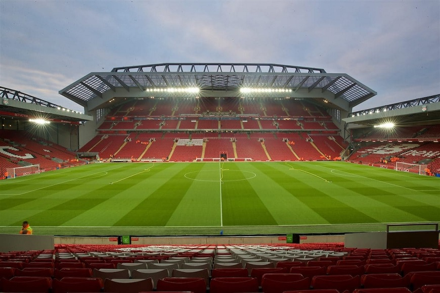 Anfield football ground