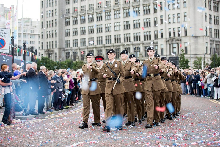 Armed Forces Day - what's on Liverpool