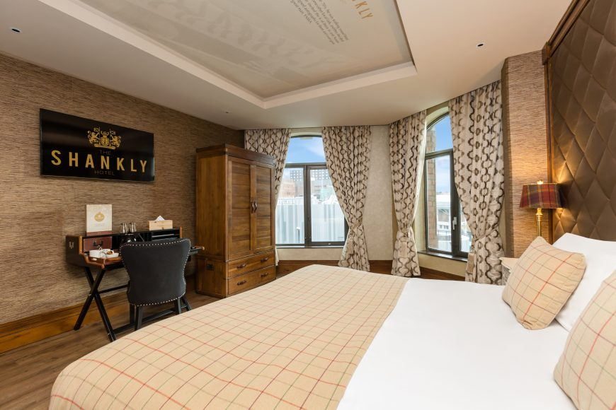 Shankly hotel room