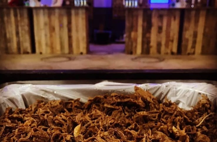 pulled meat bar