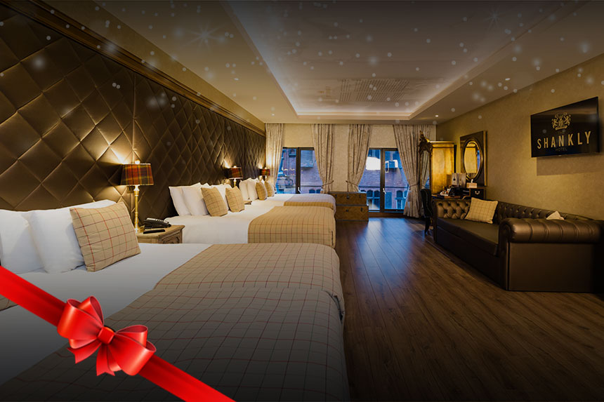 Christmas hotel offer - pamper day and overnight stay