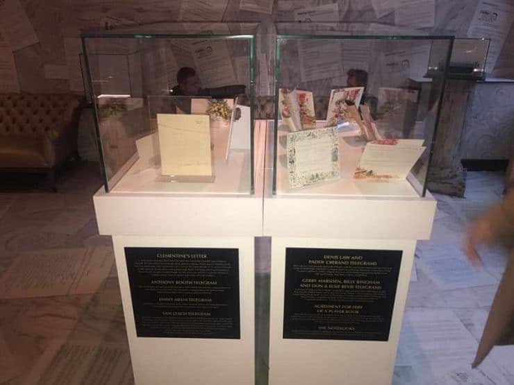 Shankly memorabilia