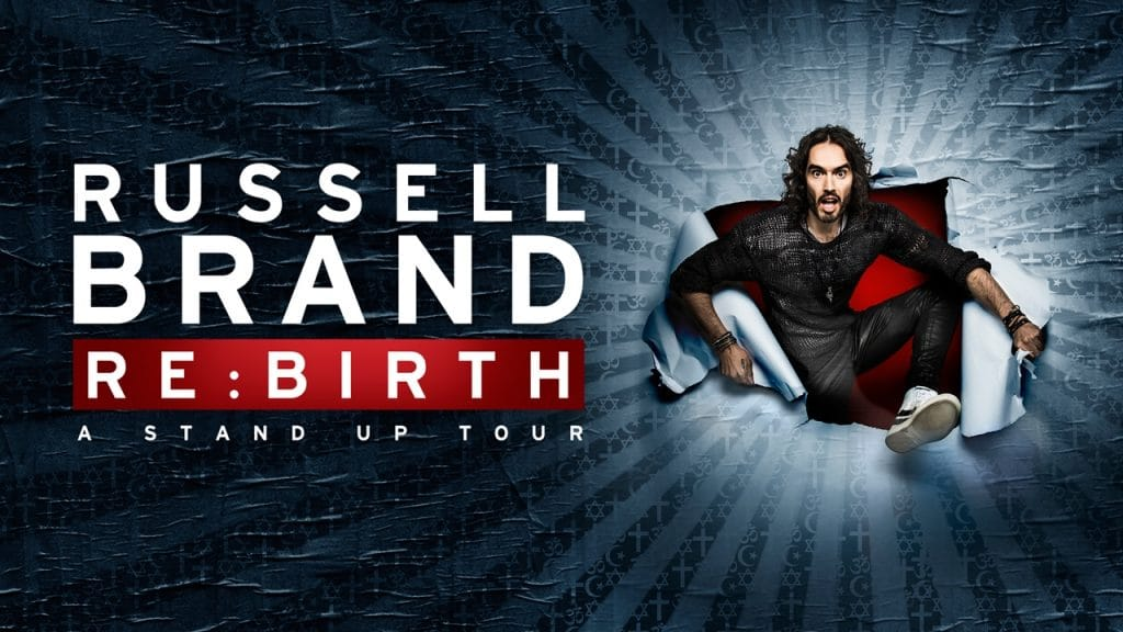 Russell Brand Live Tour