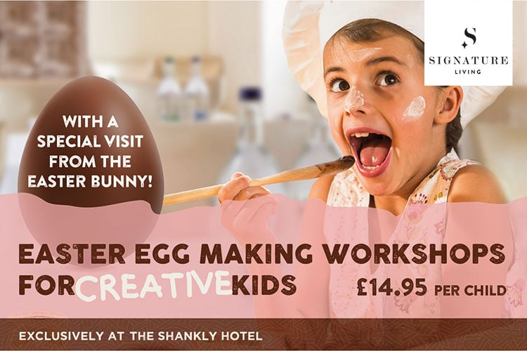 Easter egg making - The Shankly