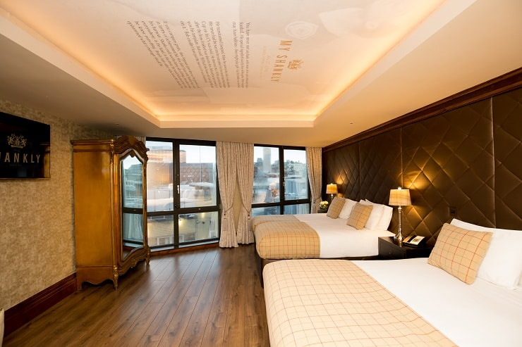 Shankly Hotel room - New Year's Eve Liverpool accommodation