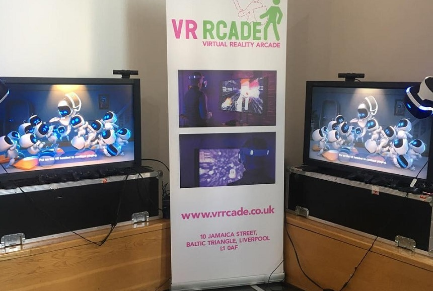 FACT VR Rcade - family friendly days out
