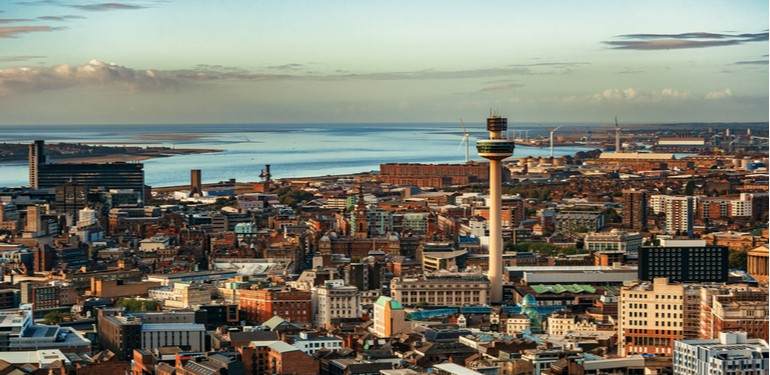 staycation in Liverpool